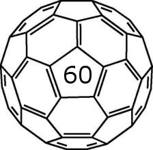 Carbon 60 Fullerene Molecule...